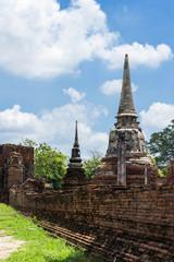 Wat mahathat, Ayutthaya, Thailand.