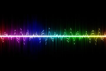 techno rainbow background - photo #20