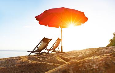 Vacances à la plage.