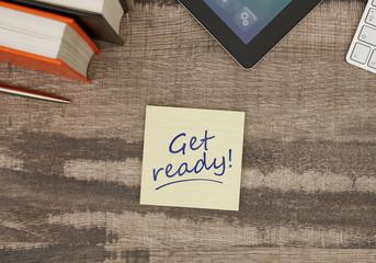Get ready!