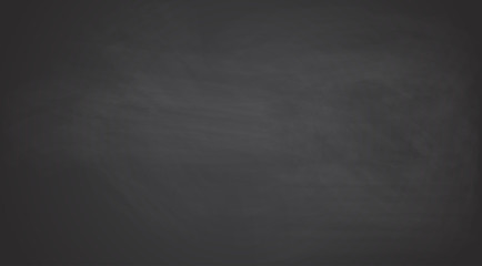 Black chalkboard background.Vector texture.