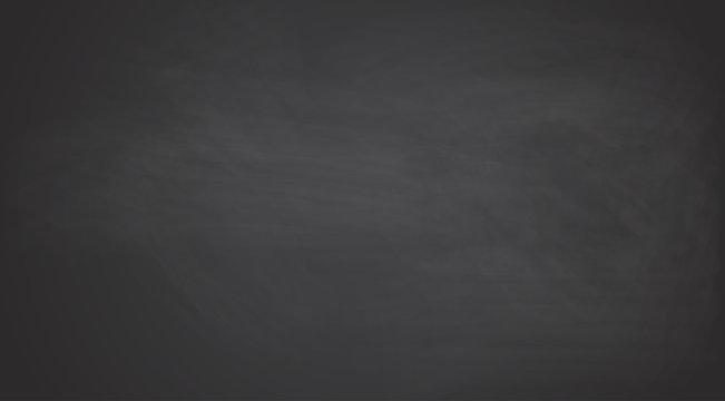 Black chalkboard background.Vector texture.