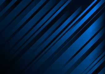 Abstract dark blue background vector template