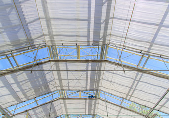 roof structure of the greenhouse