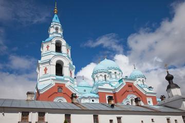 Valaam. Spaso-Preobrazhensky Valaam stavropigialny man's Monastery.