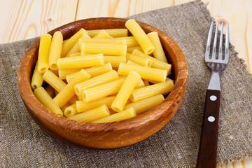 Tortellini Yellow Pasta on Plate