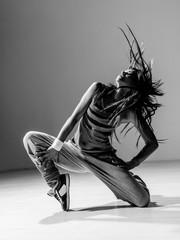the dancer in studio