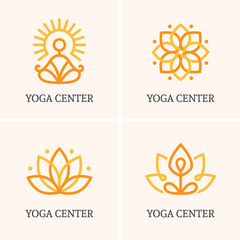 Four yoga logo