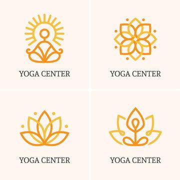 Four yoga logo