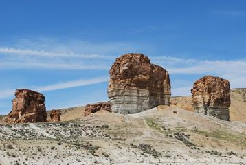 Recess Fitting Ruins desert rock formations