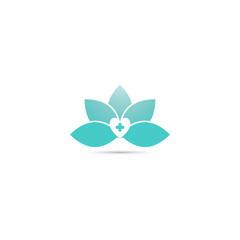 health medical logo design vector