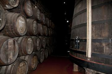 Port Wine Barrels - Porto - Portugal