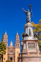 Father Miguel Hidalgo Statue Parroquia Cathedral Dolores Hidalgo