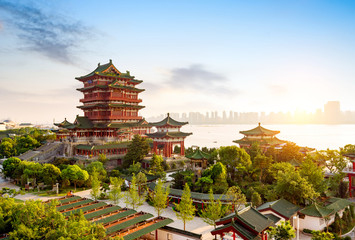 Wall Mural - Chinese Classical Architecture
