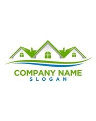 real estate vector logo design 105
