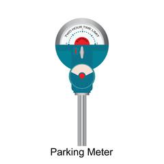 Expired Retro Parking meter.