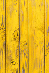 Wooden yellow background