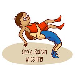 Summer Olympic Sports. Greco-Roman Wrestling