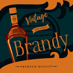 Old style brandy or brandywine poster