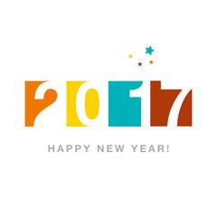 Happy New Year Calendar 2017