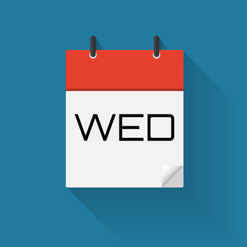 Vector of Day of a Week Calendar Icons , eps10
