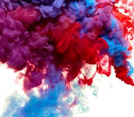Splash of shimmer paint