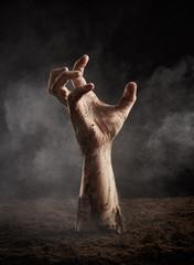 Hand of zombie