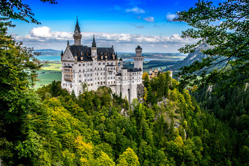 Neuschwanstein Castle, Germany Wall mural