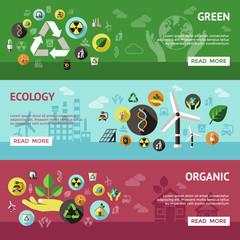 Ecology Banner Set