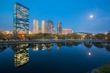 Osaka City in Japan