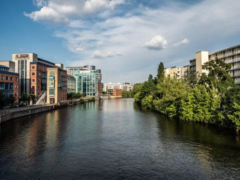 river spree in berlin charlottenburg