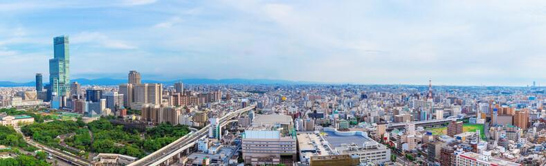 大阪の都市風景,日本
