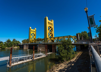 Sacramento California Tower Bridge