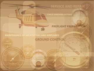 Helicopter-service_background_brown