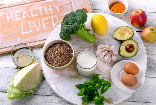 Food For Healthy And Clean Liver.