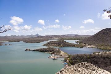 Landschaft - Christoffelberg - Tauchen - Curacao - Karibik