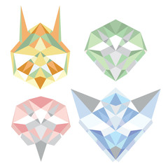 Geometric_polygon_animals
