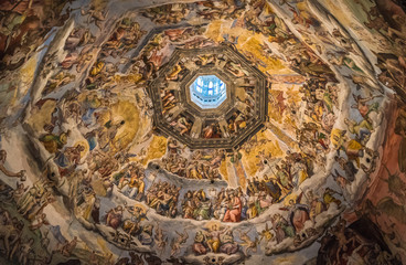 The Cupola of Duomo of Florence, Tuscany, Italy