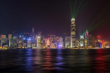 Symphony of light , Stunning amazing beautiful laser show in Hon