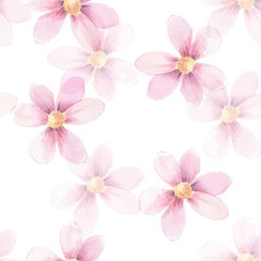 Delicate floral background. Seamless pattern 3