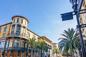 美しいサンノゼの街並み風景