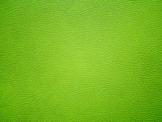 Green leather texture background