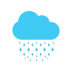 Rain icon eps10, Rain icon vector