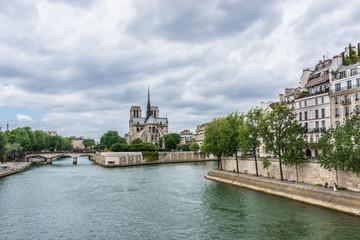 Cathedral Notre Dame (1163 - 1345) de Paris. France.