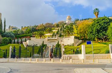 The lower Bahai Garden