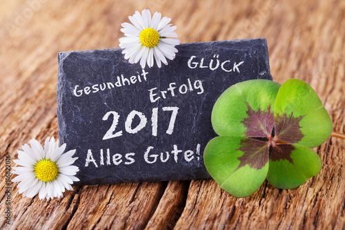 Grußkarte - Neujahr 2017