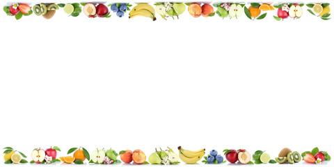 Früchte Apfel Orange Orangen Obst Textfreiraum Copyspace