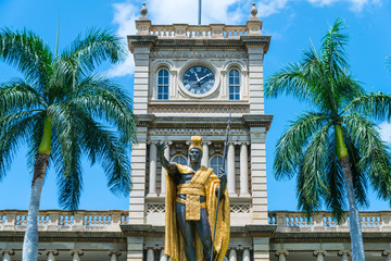 The King Kamehameha statue in Honolulu may be the most photographed item in all of the state of Hawaii.