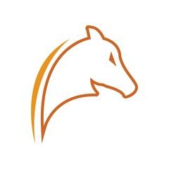 Animals Horse logo vector