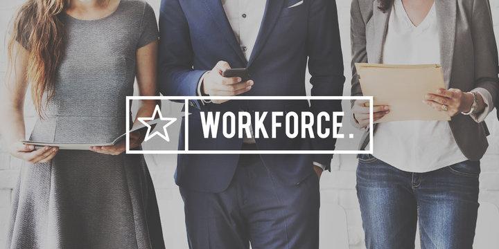 Workforce Collaboration Cooperating Partner Concept